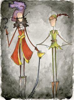 Pan & Hook Art Print By Jena Sinclaire