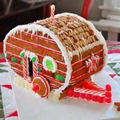 """Funny Gingerbread """"House""""!!"""