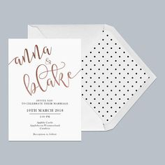 """Like the idea of envelope liner, but something about the ""anna and blake"" font I don't like"""