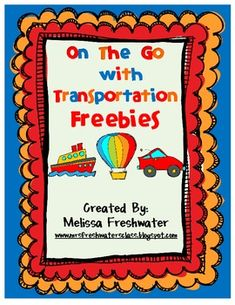 Free!! Transportation related printables!