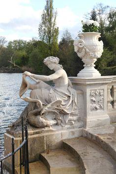 The Italian Gardens in Kensington Gardens - one of London's Royal Parks