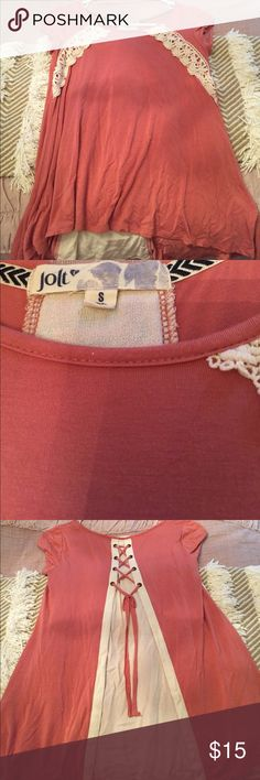 Juniors Woven Top Like New Jolt top, purchased from Dillard's Jolt Tops Tees - Short Sleeve