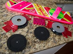 DIY Back to the Future Hoverboard using Electromagnets