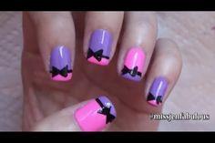 Easy nail art for beginners #8