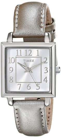 Timex Women's T2P0959J Analog Display Beige Watch *** You can find more details by visiting the image link. (This is an Amazon Affiliate link and I receive a commission for the sales)