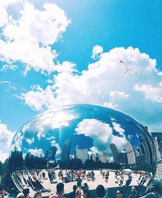 Cloud Gate Chicago The Bean Landmark Chicago Photography