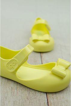 Žltá mašlička