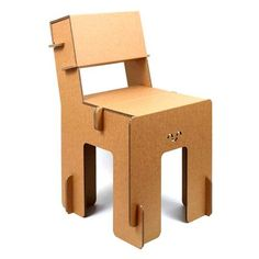 Eco-design in cardboard. Cardboard Chair, Diy Cardboard Furniture, Cardboard Design, Paper Furniture, Cardboard Display, Cardboard Sculpture, Cardboard Paper, Furniture Design, Karton Design