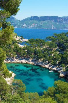 Calanque de Port-Miou, #Cassis, Provence-Alpes-Côte d'Azur