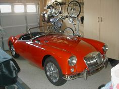 My 1957 MGA  Love love my car.