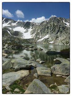 Lac de Bastani - in de buurt van station de ski de Ghisoni
