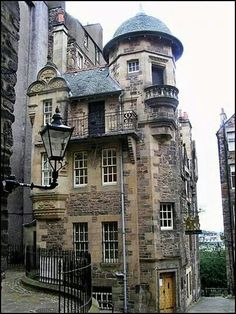 Writer's Museum, Edinburgh, Scotland