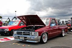 Image detail for -This Slammed Toyota Pickup Truck has nice stance with the tires ...