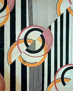 Liubov Popova Textile Design c.1924 Pencil and ink on paper 234 x 191 mm 'break in the pattern is crucial to creating visual vitality and dynamism, by disrupting the predictability and flow of the design, and adding a crucial and extra asymmetrical quality into it.