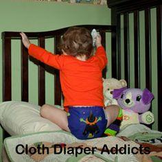 Daily Cute Fluffy Bum - Green Bumkin - Cloth Diaper Addicts