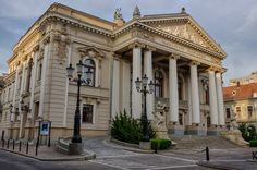 Teatrul de Stat din Oradea || I would love to attend something Romanian at this beautiful theater. :-)