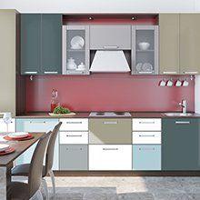 Neue Optik für deine #Küche? #Individuell gestalten mit #PANTONE #Designfolien von creatisto.