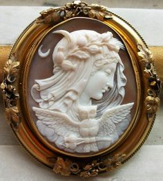 Allegory of the Night, Cameo, ca. 1840/50.