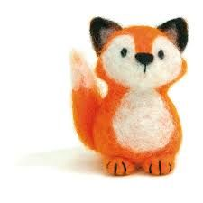 Dimensions Needle Felting Kit 72-74043 Fox Needle Felted Owl, Needle Felting Kits, Felt Fox, Felt Bunny, Felt Animals, Felting Wool Animals, Wool Felting, Felt Mouse, Little Pets
