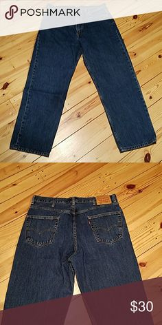Men's Levi Jeans 550. 38 x 32 Great Used Condition. 11 Levi's Jeans Relaxed