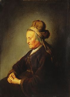 The Mother Of Rembrandt by Gerrit (Gerard) Dow: History, Analysis & Facts Amazing Paintings, Old Paintings, Rembrandt, Gerrit Dou, Dutch Golden Age, Dutch Painters, Portraits, Leiden, Museum Of Fine Arts