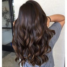 Black Coffee Hair With Ombre Highlights - 10 Cool Ideas of Coffee Brown Hair Color - The Trending Hairstyle Brown Hair Cuts, Brown Hair Looks, Golden Brown Hair, Brown Ombre Hair, Brown Blonde Hair, Light Brown Hair, Brunette Hair, Dark Brunette, Golden Blonde
