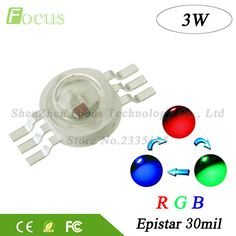 Cheap rgb led cob, Buy Quality high power led directly from China high power led green Suppliers: High Power LED Chip RGB LED COB Beads 3 W Light Lamp 6 pin Full Color Red Green Blue For DIY LED Floodlight Spotlight Blue Orange, Red Green, Led Cob, Diy Led, Light Emitting Diode, Power Led, Color Red, Lamp Light, Lighting Accessories