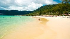 Patong Beach is home to the biggest stretch of sand and wildest nightlife on Thailand's Phuket Island