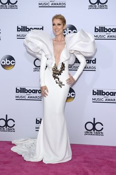 Celine at the 2017 BBMA