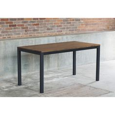 Found it at Wayfair - Loft Dining Table