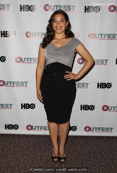 America Ferrera  2014 Outfest Los Angeles screening of 'X/Y' http://icelebz.com/events/2014_outfest_los_angeles_screening_of_x_y_/photo5.html