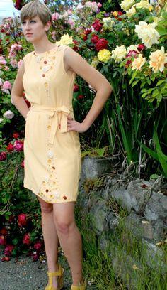 Dress by Seattle designer Deco Modiste