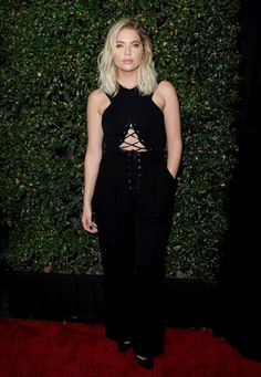 Ashley Benson attends the Celebration for Pretty Little Liars Final Season at Siren Studios in Hollywood, California (October 29th, 2016)