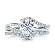 modern diamond ring - Google Search