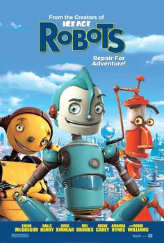 Robots -- For the first time ever, an animated feature presents a totally imagined world - a wondrously clanky universe populated solely by mechanical beings.♥♥♥