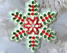 Ručně Polymer Clay Ornament