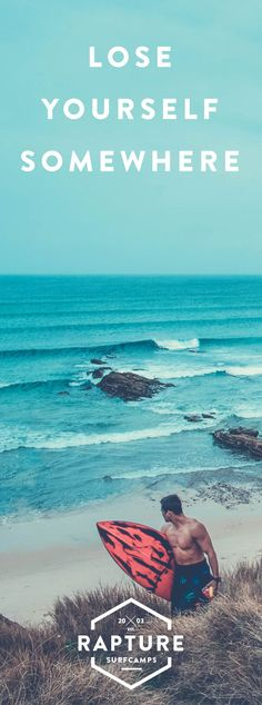 Lose yourself in Portugal - Start learn how to surf - www.rapturecamps.com