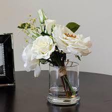 Image result for desk flowers in tall vase