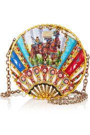 Dolce & GabbanaGlam matelassé shoulder bag