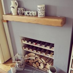 Terrific Pics unused Fireplace Ideas Strategies Whether you live in Aspen or Cal… – Modern Empty Fireplace Ideas, Unused Fireplace, Shiplap Fireplace, Small Fireplace, Fireplace Design, Fireplace Decorations, Bedroom Fireplace, Farmhouse Fireplace, Farmhouse Decor