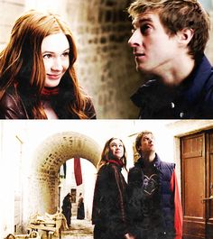 Amy and Rory. I Am The Doctor, Bbc Doctor Who, First Doctor, Eleventh Doctor, Guardians Of The Universe, Doctor Who Companions, Stupid Face, Ron And Hermione, Rory Williams