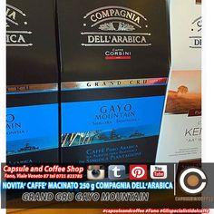 CAFFE' MACINATO GRAN CRU GAYO MOUNTAIN  Coltivato secondo i criteri dell'agricoltura biologica, da più di 200 anni, ad un'altezza tra i 1.000 ed i 1.700 metri in Sumatra ed Indonesia. E' un caffè caratterizzato da un aroma corposo e speziato, adatto per qualsiasi momento della giornata ed ideale dopo cena. Aderisce al progetto equo-solidale FAIRTRADE.   Capsule & Coffee Shop Fano Gli specialisti del caffè Viale Veneto 87 tel 0721-823785  #capsuleandcoffee #Fano #glispecialistidelcaffè #caffè…