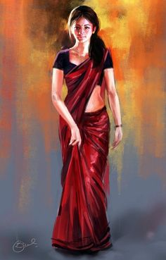 Kisi  Shayar ki Ghazal .............. - Digital Art by Kiran Kumar in Digital Paintings at touchtalent