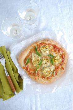 (WIN, WIN!!!!!!!) Massa de pizza da Patrícia Scarpin <3 <3 <3