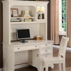 http://www.inmagz.com Marvelous Small Writing Desk With Hutch And Chair White