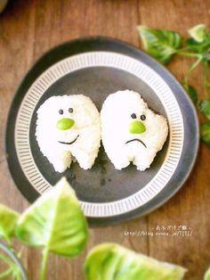 teeth onigiri