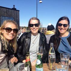 Helsinki at its best & these ladies ❤️ I miss you already! #helsinki #eira #cafebirgitta #balticsea #happiness #bubbles #summerinthecity