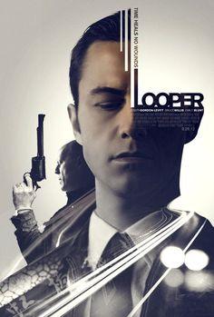 Looper - poster designed by Elena De Pablo Rodríguez