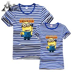 Despicable me 2 T-shirt Minions t-shirts Apparel & Accessories women and man  clothes with short sleeves Apparel & Accessories
