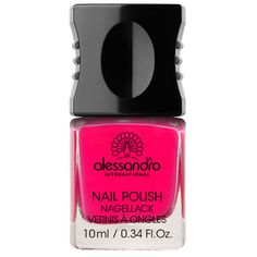 One of alessandro International's 99 top fashion colors, designed to make the heart of any nail polish freak beat faster.| $9.50 #Nails #Beauty #Nailart #Manicure #Glitter Visit Beauty.com for more.